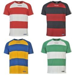 Poleras de hombre cuello redondo Stripe Durban 2XL Patrick Rugby