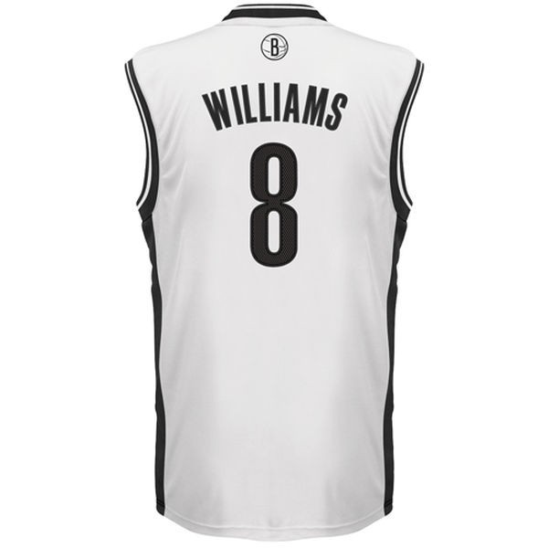 66ca9d3658047 Adidas NBA Brooklyn Nets Replica - Camiseta de basketball 3XL